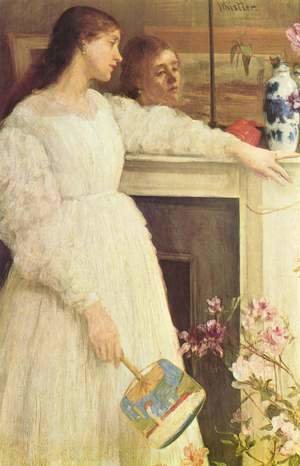 James Abbott McNeill Whistler - Symphony in White Number 2- The Little White Girl  1864