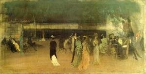 James Abbott McNeill Whistler - Cremorne Gardens, No. 2