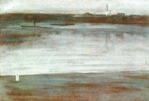 Symphony in Grey: Early Morning, Thames