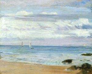 James Abbott McNeill Whistler - Blue and Silver: Trouville
