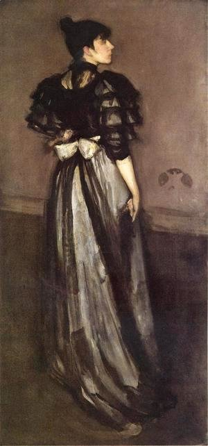 James Abbott McNeill Whistler - Mother of Pearl and Silver: The Andalusian