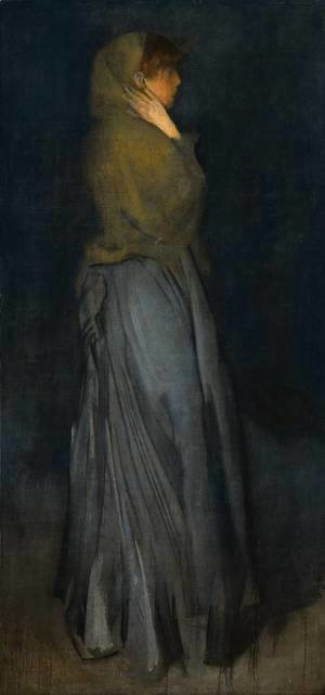 James Abbott McNeill Whistler - Arrangement in Yellow and Grey: Effie Deans