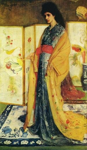 James Abbott McNeill Whistler - La Princesse duPays de la Porcelaine