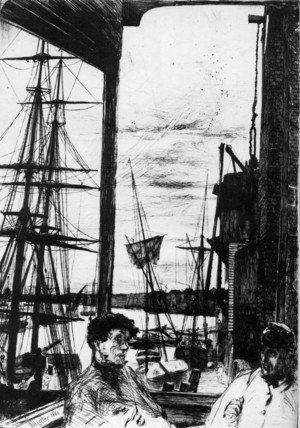 James Abbott McNeill Whistler - Rotherhithe