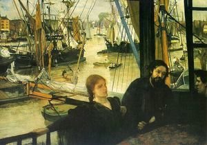 James Abbott McNeill Whistler - Wapping on Thames