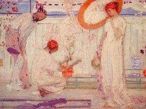 James Abbott McNeill Whistler - The White Symphony: Three Girls