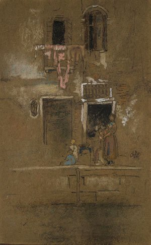 James Abbott McNeill Whistler - Note in Pink and Brown