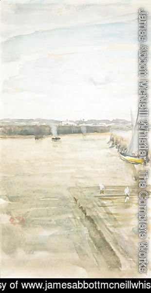 James Abbott McNeill Whistler - Scene on the Mersey