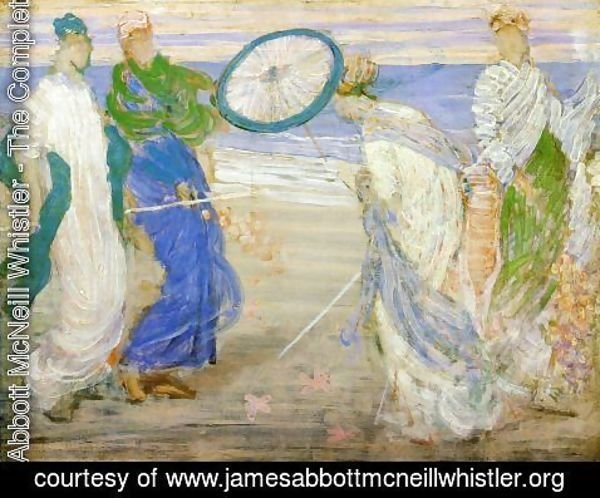 James Abbott McNeill Whistler - Symphony in Blue and Pink