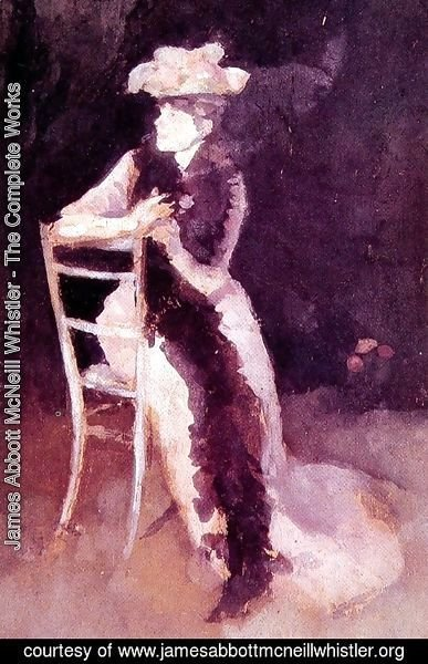James Abbott McNeill Whistler - Rose and Silver: Portrait of Mrs Whibley