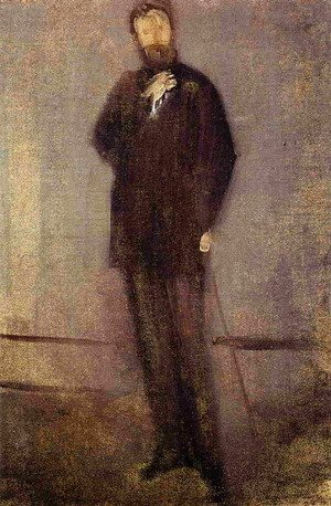 James Abbott McNeill Whistler - Study for the Portrait of F. R. Leyland