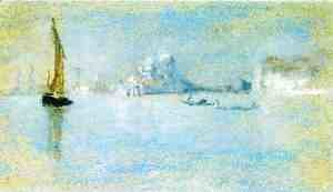 James Abbott McNeill Whistler - View of Venice