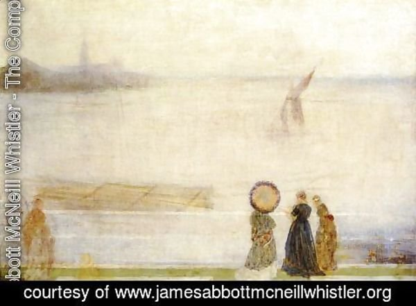 James Abbott McNeill Whistler - Battersea Reach from Lindsey Houses
