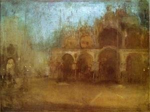 James Abbott McNeill Whistler - Nocturne: Blue and Gold - St Mark's, Venice