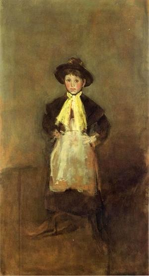 James Abbott McNeill Whistler - The Chelsea Girl