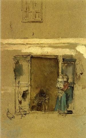 James Abbott McNeill Whistler - The Open Door