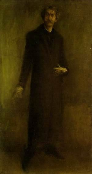 James Abbott McNeill Whistler - Brown and Gold