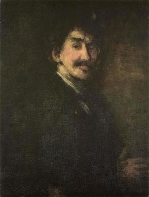 James Abbott McNeill Whistler - Gold and Brown