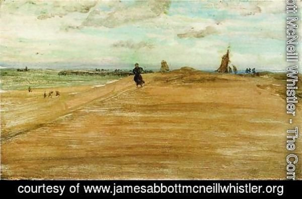 James Abbott McNeill Whistler - Beach Scene