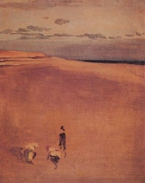 James Abbott McNeill Whistler - The Beach at Selsey Bill