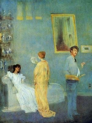 James Abbott McNeill Whistler - The Artist's Studio