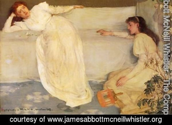 James Abbott McNeill Whistler - Symphony in White, No. 3