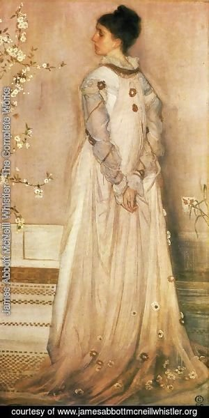 James Abbott McNeill Whistler - Symphony in Flesh Colour and Pink: Portrait of Mrs. Frances Leyland