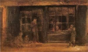 James Abbott McNeill Whistler - A Shop