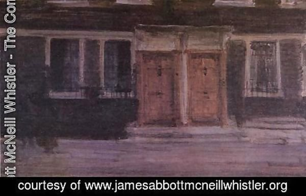 James Abbott McNeill Whistler - Chelsea Houses