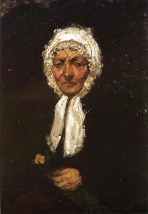 James Abbott McNeill Whistler - Old Mother Gerard