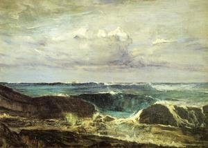 James Abbott McNeill Whistler - Blue and Silver: The Blue Wave, Biarritz