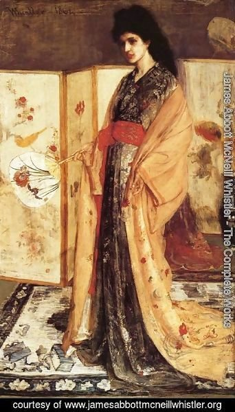 James Abbott McNeill Whistler - Rose and Silver: The Princess from the Land of Porcelain