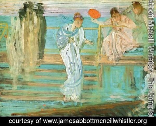 James Abbott McNeill Whistler - Symphony in White and Red