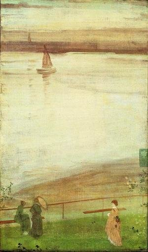 James Abbott McNeill Whistler - Variations in Violet and Green