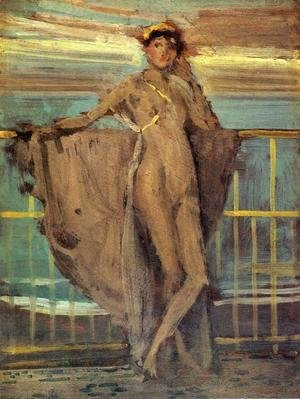 "James Abbott McNeill Whistler - Sketch for ""Annabel Lee"""