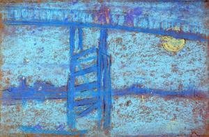 James Abbott McNeill Whistler - Nocturne: Battersea Bridge