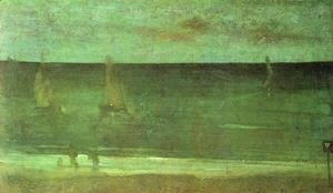 James Abbott McNeill Whistler - Nocturne: Blue and Silver - Bognor