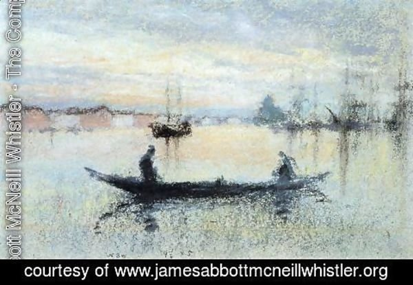 James Abbott McNeill Whistler - Note in Flesh Colour: The Guidecca