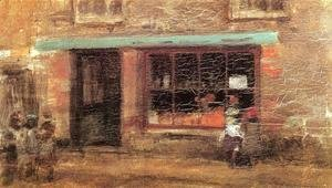 James Abbott McNeill Whistler - Blue and Orange: The Sweet Shop