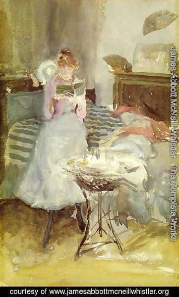 James Abbott McNeill Whistler - Pink Note: The Novelette