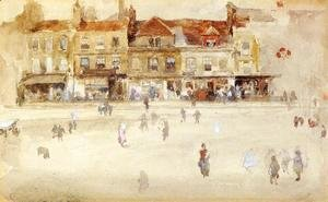James Abbott McNeill Whistler - Chelsea Shops