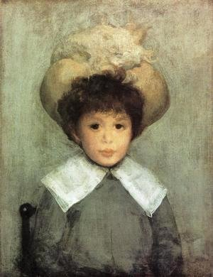 James Abbott McNeill Whistler - Arrangement in Grey: Portrait of Master Stephen Manuel