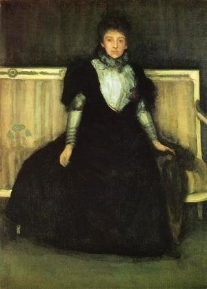 Green and Violet: Portrait of Mrs. Walter Sickert