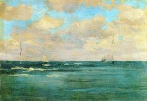 James Abbott McNeill Whistler - Bathing Posts