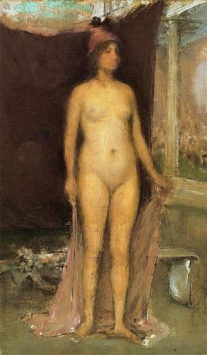 James Abbott McNeill Whistler - Purple and Gold: Phryne the Superb! - Builder of Temples