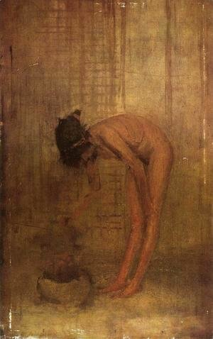 James Abbott McNeill Whistler - Nude Girl with a Bowl