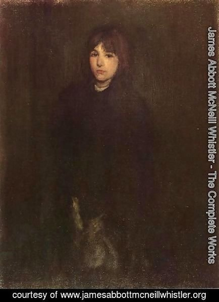 James Abbott McNeill Whistler - The Boy in a Cloak