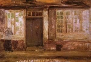 James Abbott McNeill Whistler - The Priest's Lodging, Dieppe