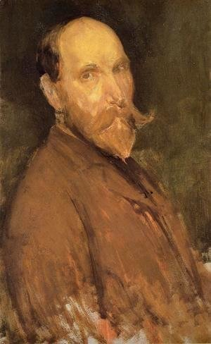 James Abbott McNeill Whistler - Portrait of Charles L. Freer
