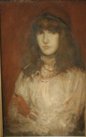 James Abbott McNeill Whistler - The Red Glove